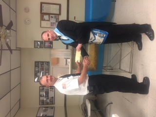 Lodge #542 donates to fire co.